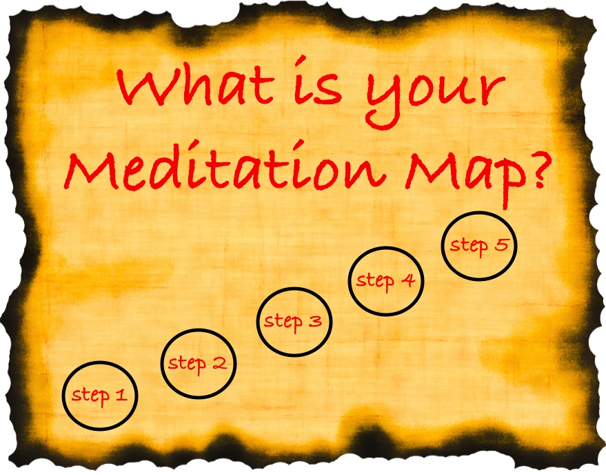 Treasure Mapping Your Meditation!