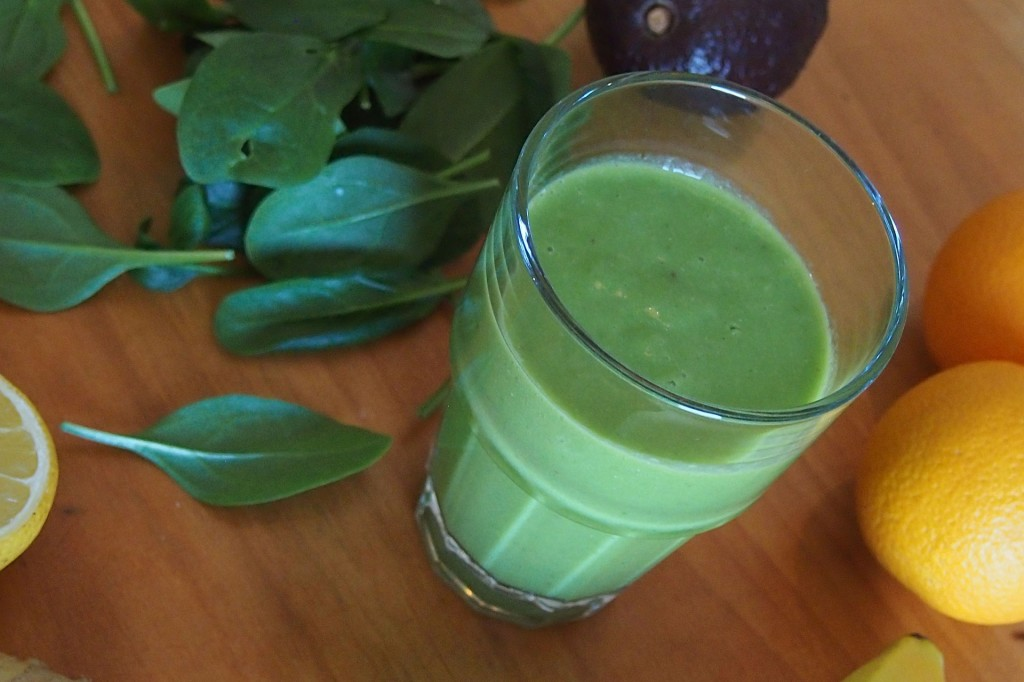 Green Juice, Gratitude, and Meditative Action